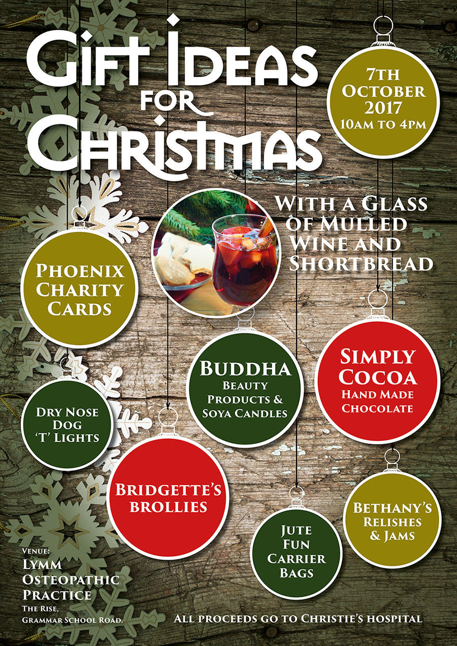 A3 Christmas Shopping Poster