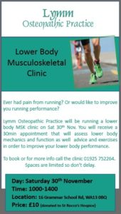 lymm Osteopathic Practice - free lower body musculoskeltal