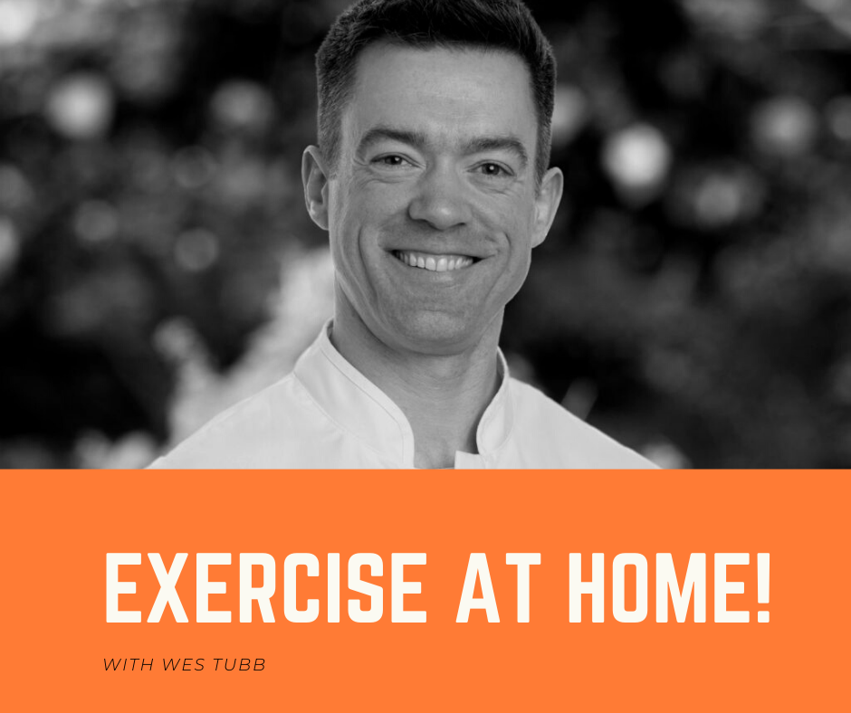 Exercise at home!
