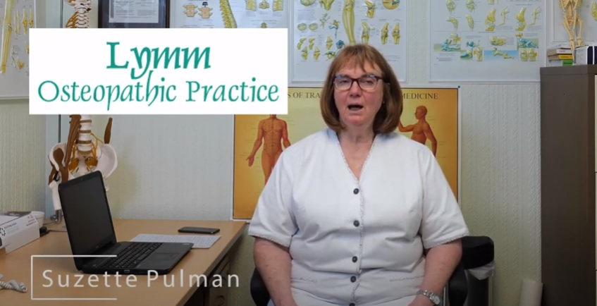 Working from home - Lymm Osteopathic Practice